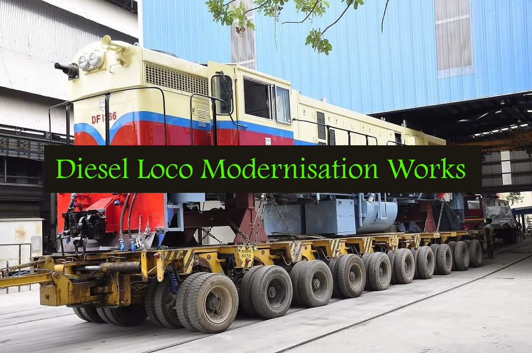 Diesel Loco Modernisation Works